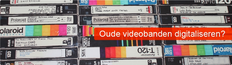 oude videobanden digitaliseren